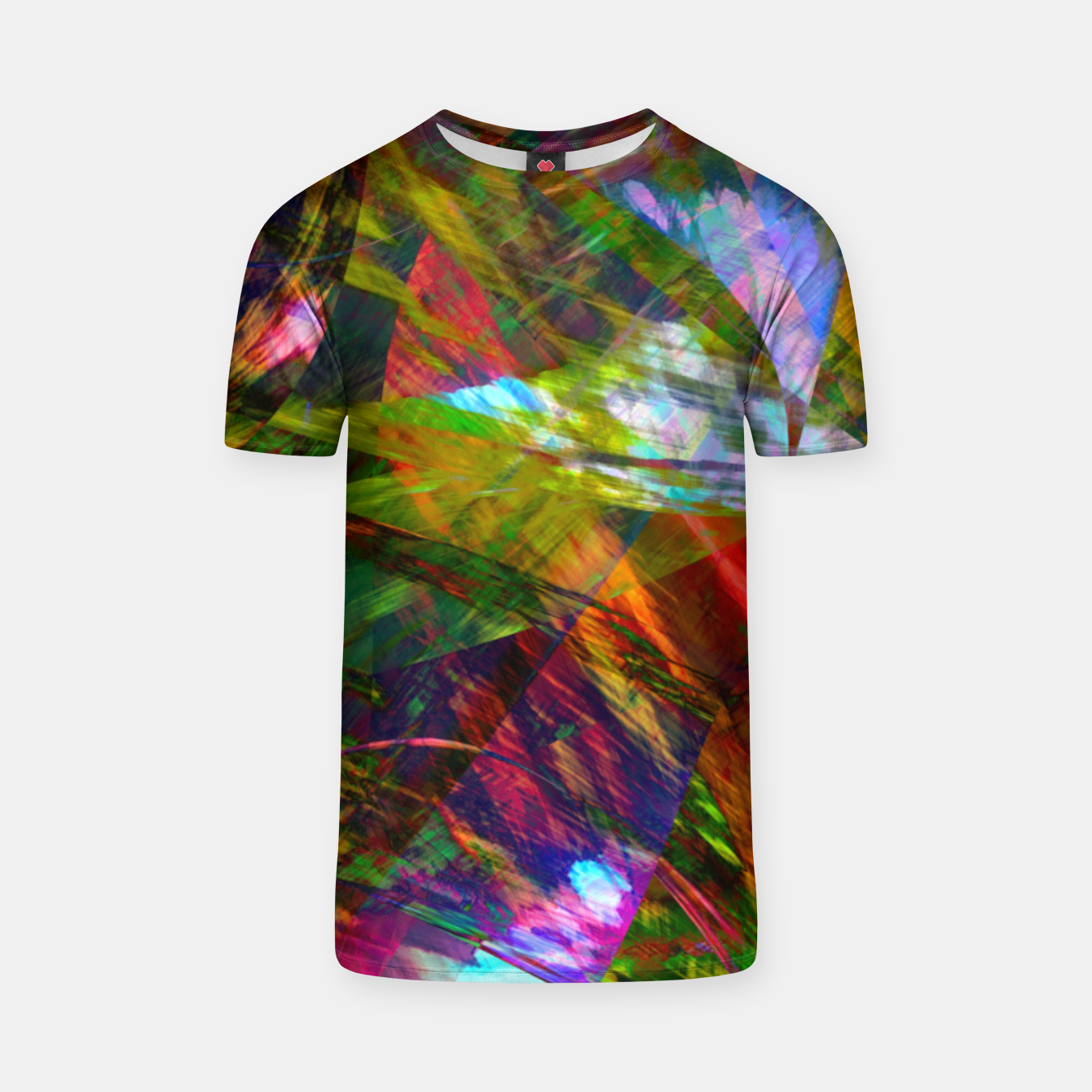 Image of Abstraction 4 T-shirt - Live Heroes