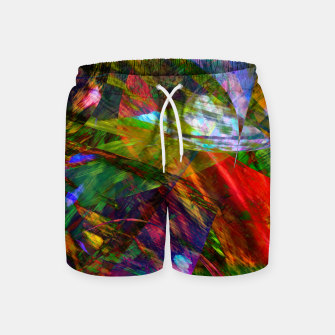 Thumbnail image of Abstraction 4 Swim Shorts, Live Heroes