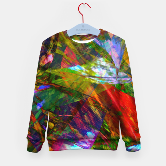 Thumbnail image of Abstraction 4 Kid's sweater, Live Heroes