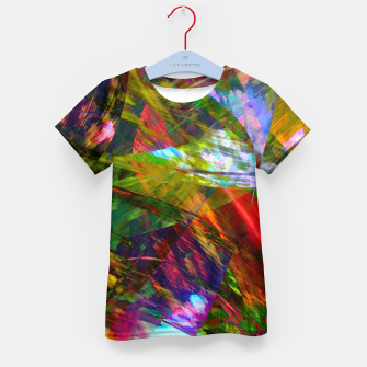 Thumbnail image of Abstraction 4 Kid's t-shirt, Live Heroes