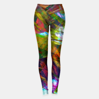 Thumbnail image of Abstraction 4 Leggings, Live Heroes