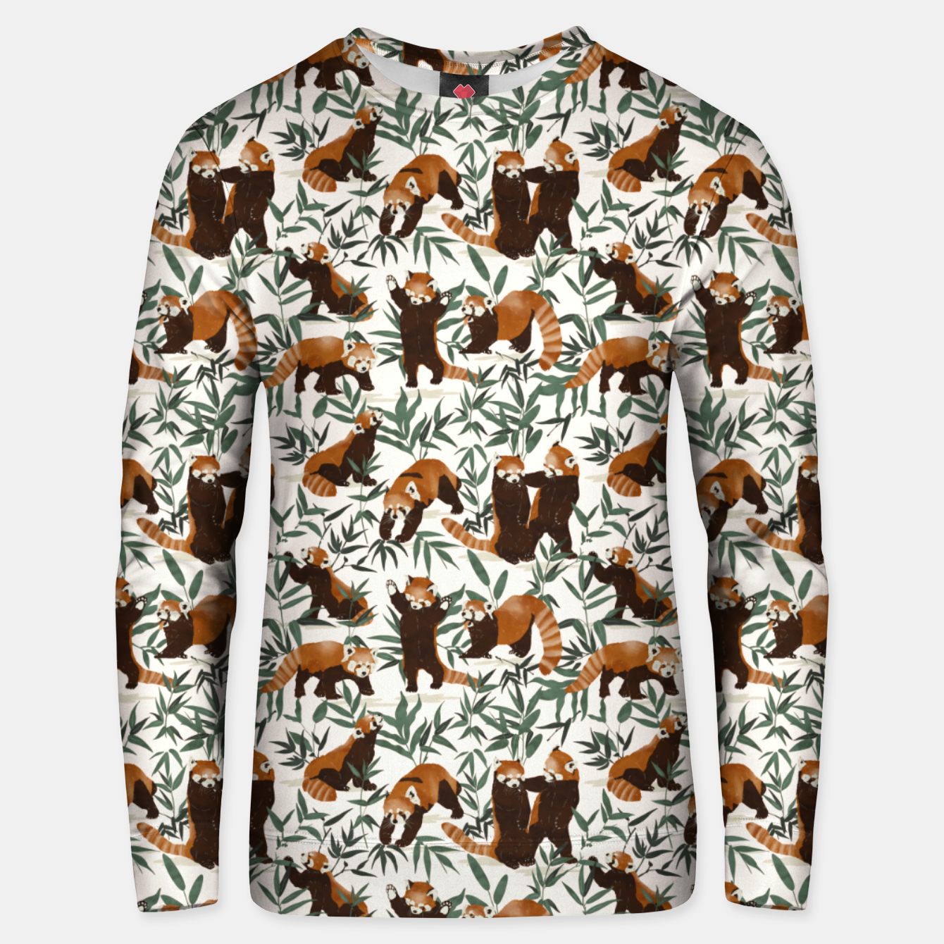 Image of Little red pandas in nature Sudadera unisex - Live Heroes