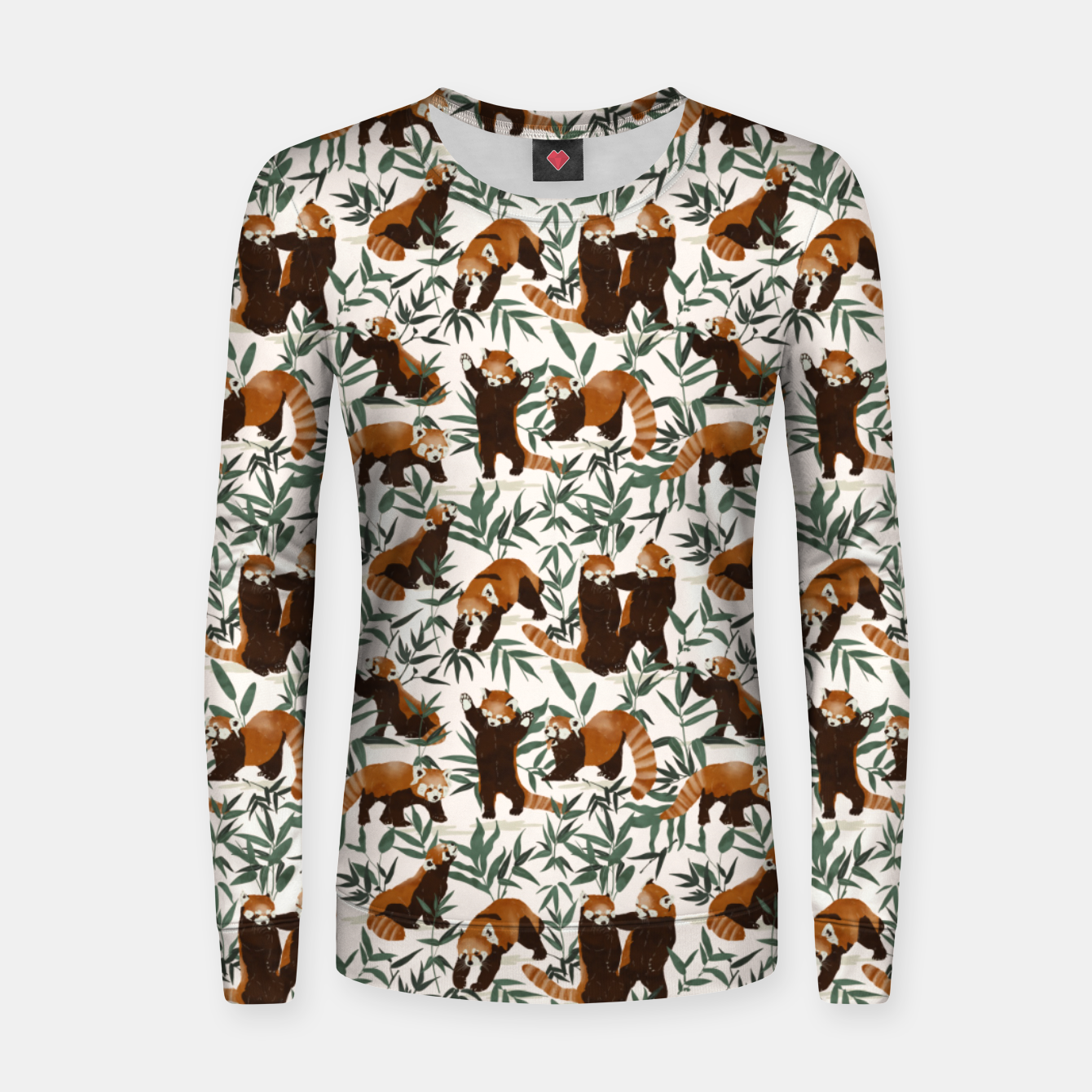 Foto Little red pandas in nature Sudadera para mujeres - Live Heroes