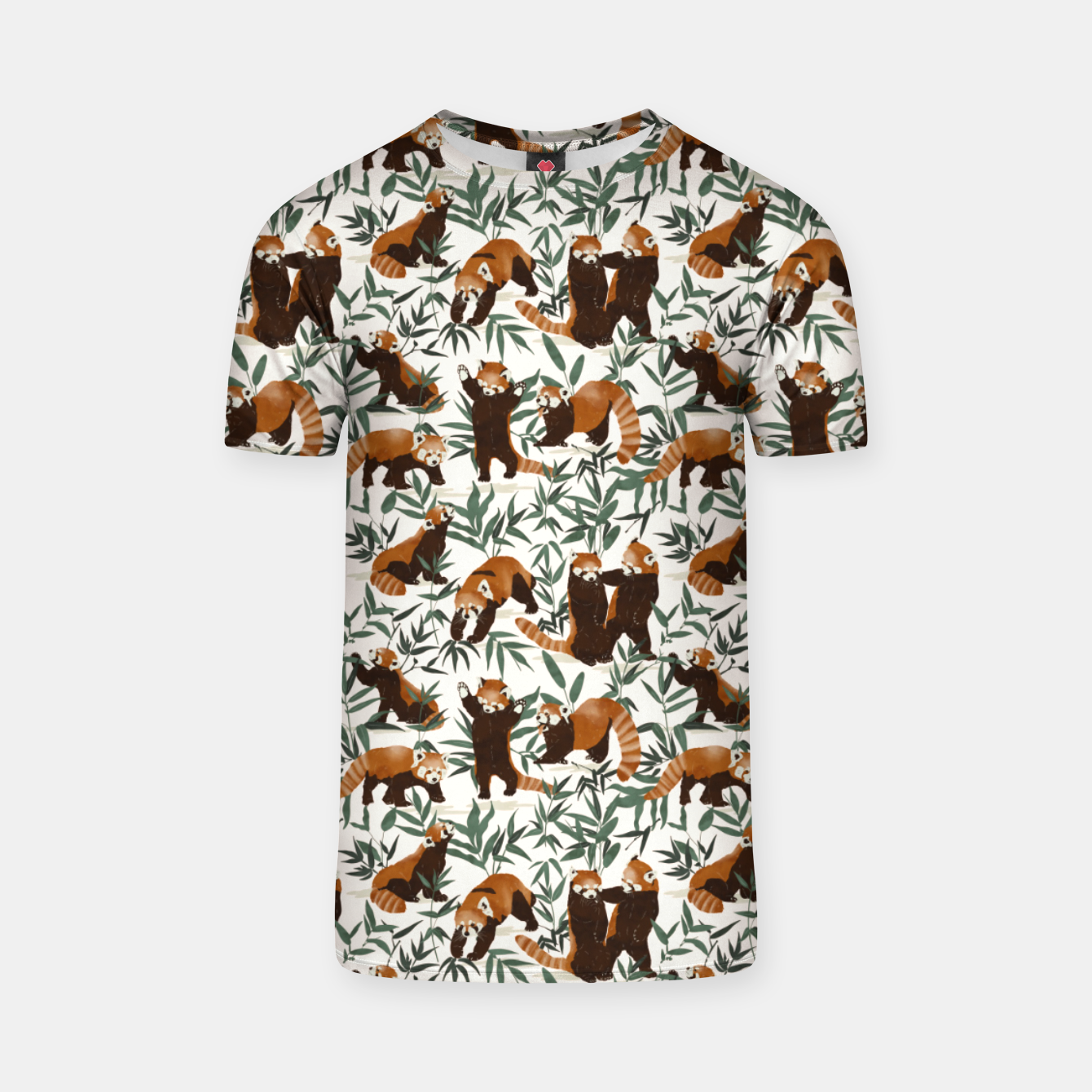 Image of Little red pandas in nature Camiseta - Live Heroes