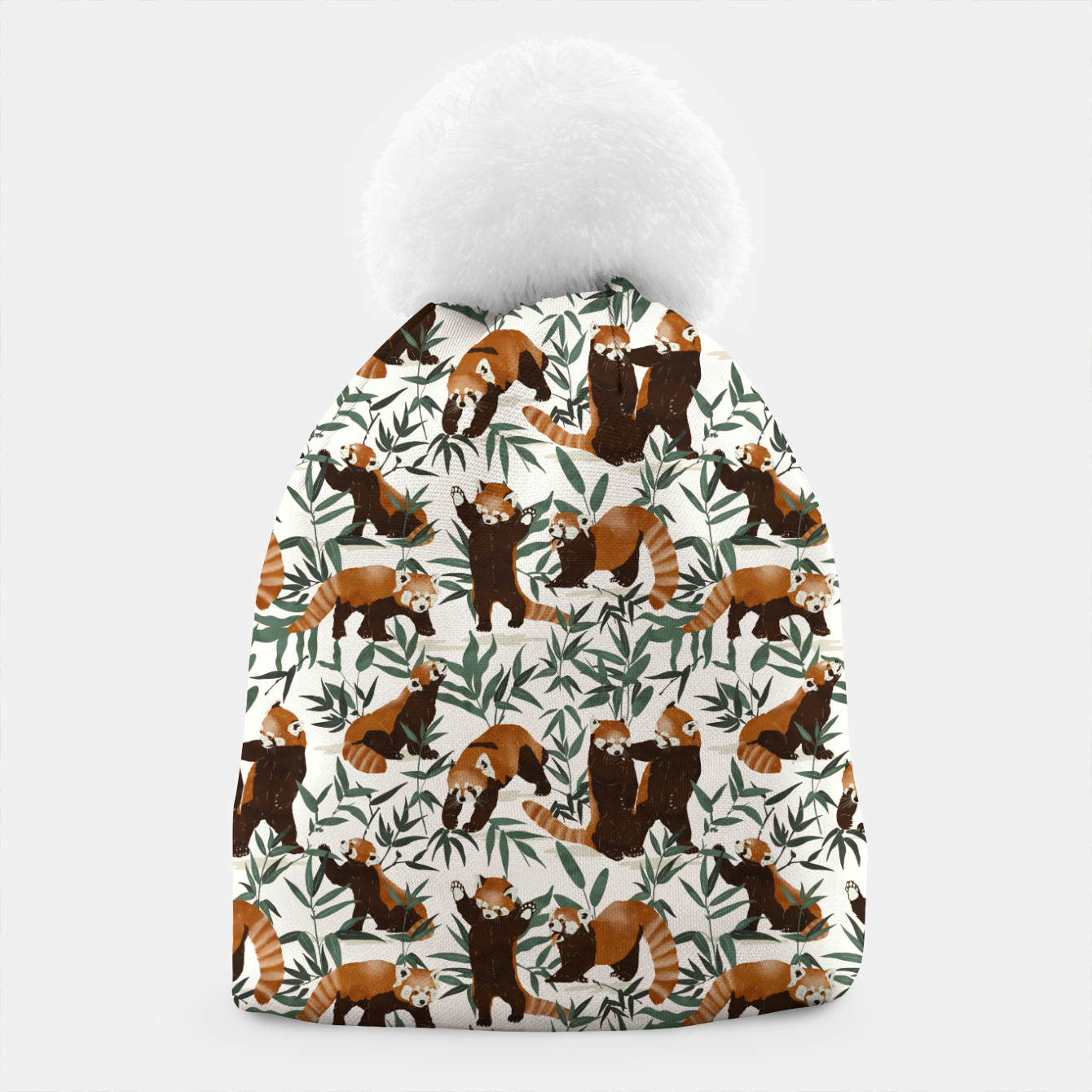 Image of Little red pandas in nature Gorro - Live Heroes