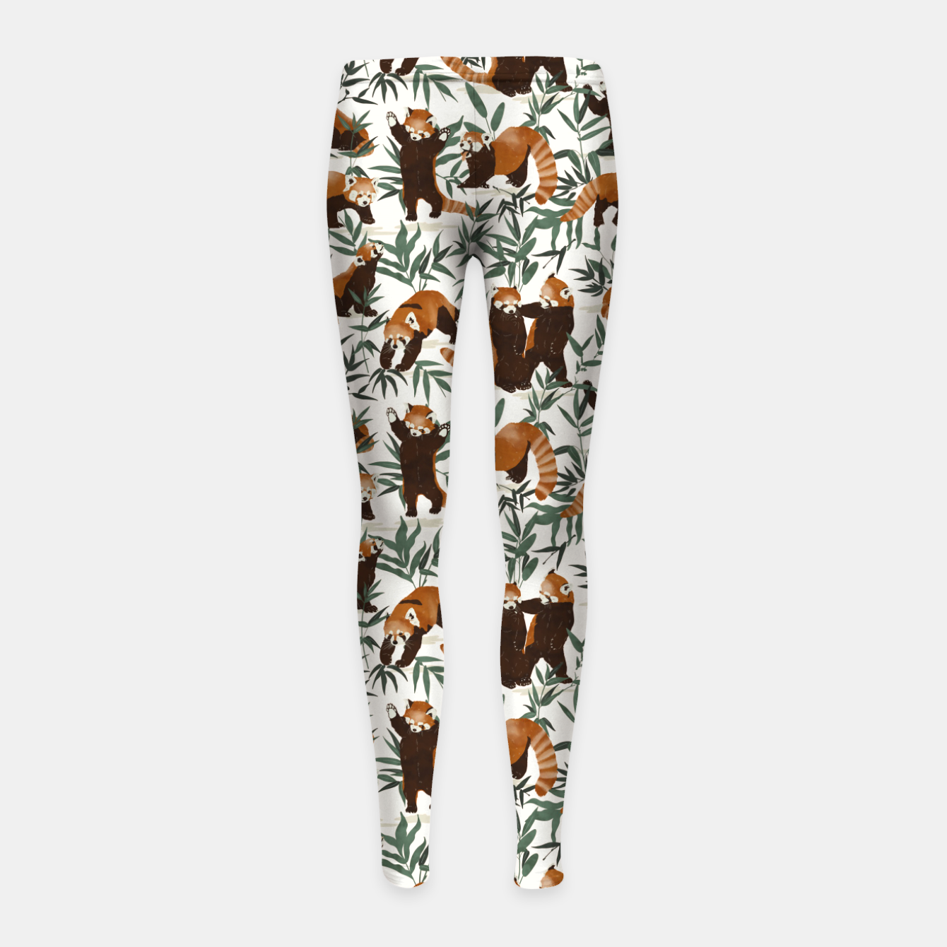 Foto Little red pandas in nature Leggings para niña - Live Heroes