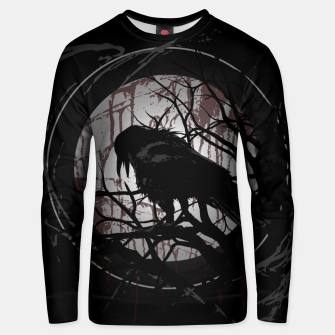 Thumbnail image of Blood Moon Raven Unisex sweatshirt, Live Heroes