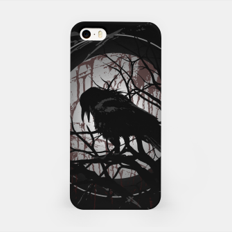 Miniatur Blood Moon Raven iPhone-Hülle, Live Heroes