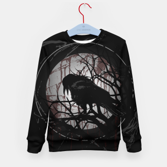 Thumbnail image of Blood Moon Raven Kindersweatshirt, Live Heroes