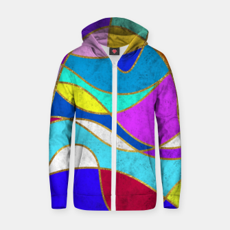 Thumbnail image of Magic Waves Zip up hoodie, Live Heroes