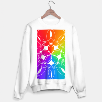 Miniature de image de Rainbow Pattern  Sweater regular, Live Heroes