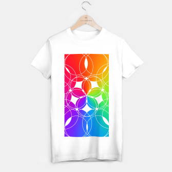 Miniature de image de Rainbow Pattern  T-shirt regular, Live Heroes