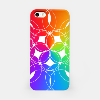 Miniature de image de Rainbow Pattern  iPhone Case, Live Heroes