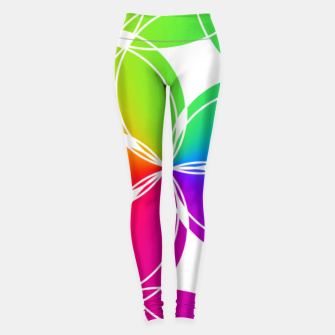 Miniature de image de Rainbow Pattern  Leggings, Live Heroes