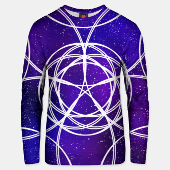 Thumbnail image of Galaxy Pattern Unisex sweater, Live Heroes