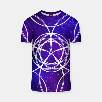 Thumbnail image of Galaxy Pattern T-shirt, Live Heroes