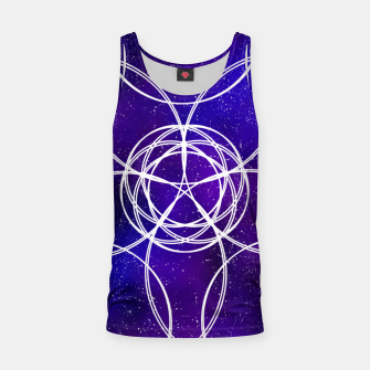 Thumbnail image of Galaxy Pattern Tank Top, Live Heroes