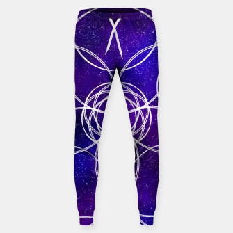 Thumbnail image of Galaxy Pattern Sweatpants, Live Heroes