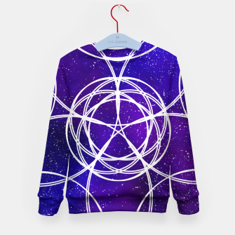 Thumbnail image of Galaxy Pattern Kid's sweater, Live Heroes