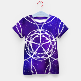 Thumbnail image of Galaxy Pattern Kid's t-shirt, Live Heroes