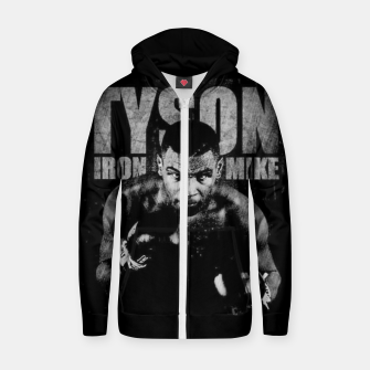 Thumbnail image of Iron Mike Tyson Boxing Legend Zip up hoodie, Live Heroes