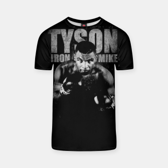 Thumbnail image of Iron Mike Tyson Boxing Legend T-shirt, Live Heroes