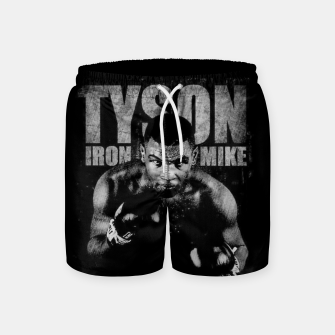 Thumbnail image of Iron Mike Tyson Boxing Legend Swim Shorts, Live Heroes