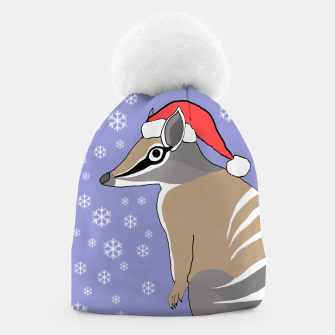 Thumbnail image of Santa Numbat Christmas beanie, Live Heroes