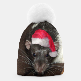 Thumbnail image of Ratty Christmas beanie, Live Heroes