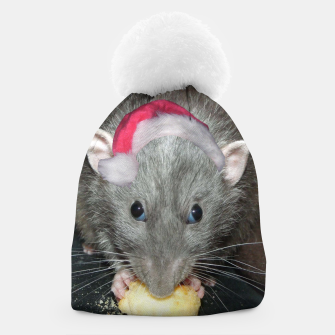 Thumbnail image of Christmas Rat Beanie, Live Heroes