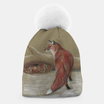 Thumbnail image of Red Fox and cubs, Beanie, Live Heroes