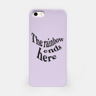 Miniature de image de Here the rainbow ends - cute iphone case, Live Heroes