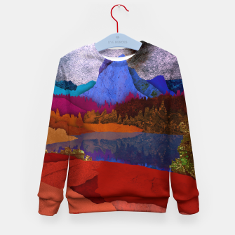 Miniatur One volcano Kid's sweater, Live Heroes