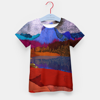 Miniatur One volcano Kid's t-shirt, Live Heroes