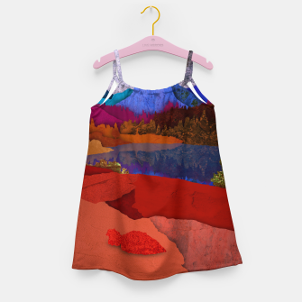 Thumbnail image of One volcano Girl's dress, Live Heroes