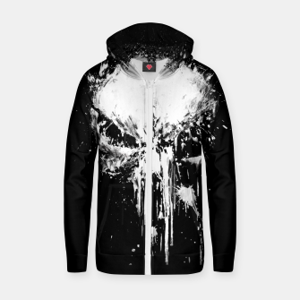 punisher Zip up hoodie obraz miniatury