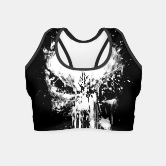 Thumbnail image of punisher Crop Top, Live Heroes