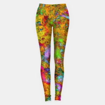 Thumbnail image of The slightest doubt Leggings, Live Heroes