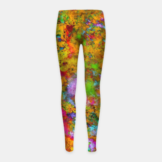 Thumbnail image of The slightest doubt Girl's leggings, Live Heroes
