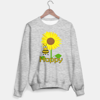 Miniatur Be Happy Sweater regular, Live Heroes