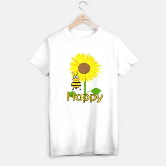 Miniatur Be Happy T-shirt regular, Live Heroes