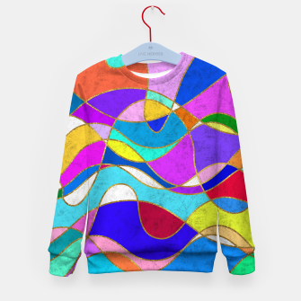 Thumbnail image of Magic Waves Kid's sweater, Live Heroes