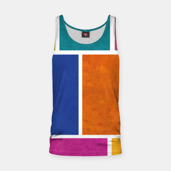 Thumbnail image of Rectangle Tank Top, Live Heroes
