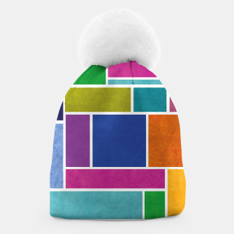 Thumbnail image of Rectangle Beanie, Live Heroes