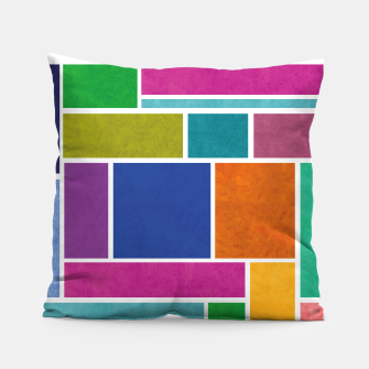 Thumbnail image of Rectangle Pillow, Live Heroes