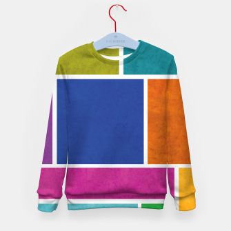 Thumbnail image of Rectangle Kid's sweater, Live Heroes