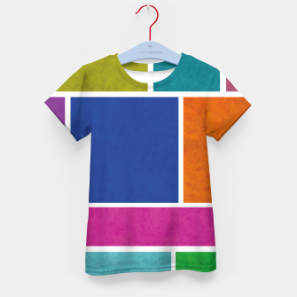 Thumbnail image of Rectangle Kid's t-shirt, Live Heroes