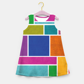 Thumbnail image of Rectangle Girl's summer dress, Live Heroes