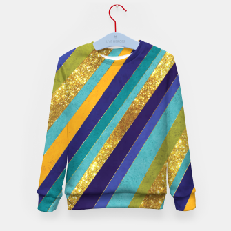 Thumbnail image of Lines Kid's sweater, Live Heroes
