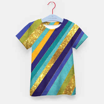 Thumbnail image of Lines Kid's t-shirt, Live Heroes
